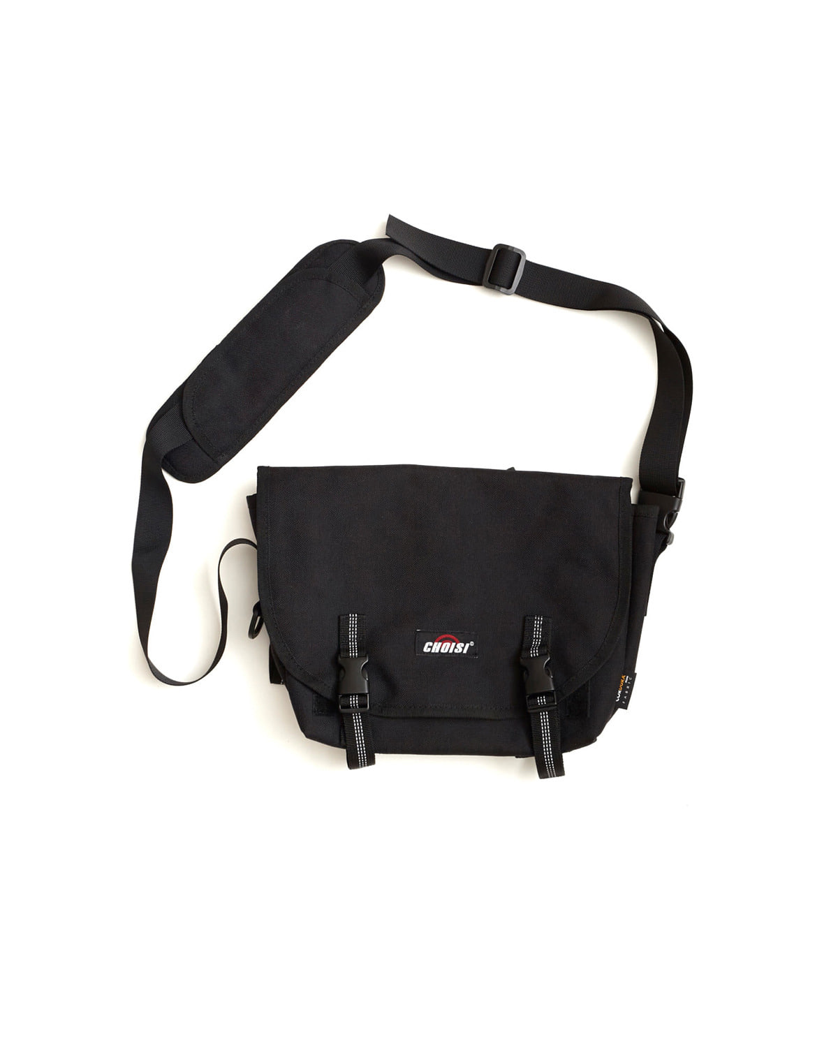 Buckle Waist bag, Black