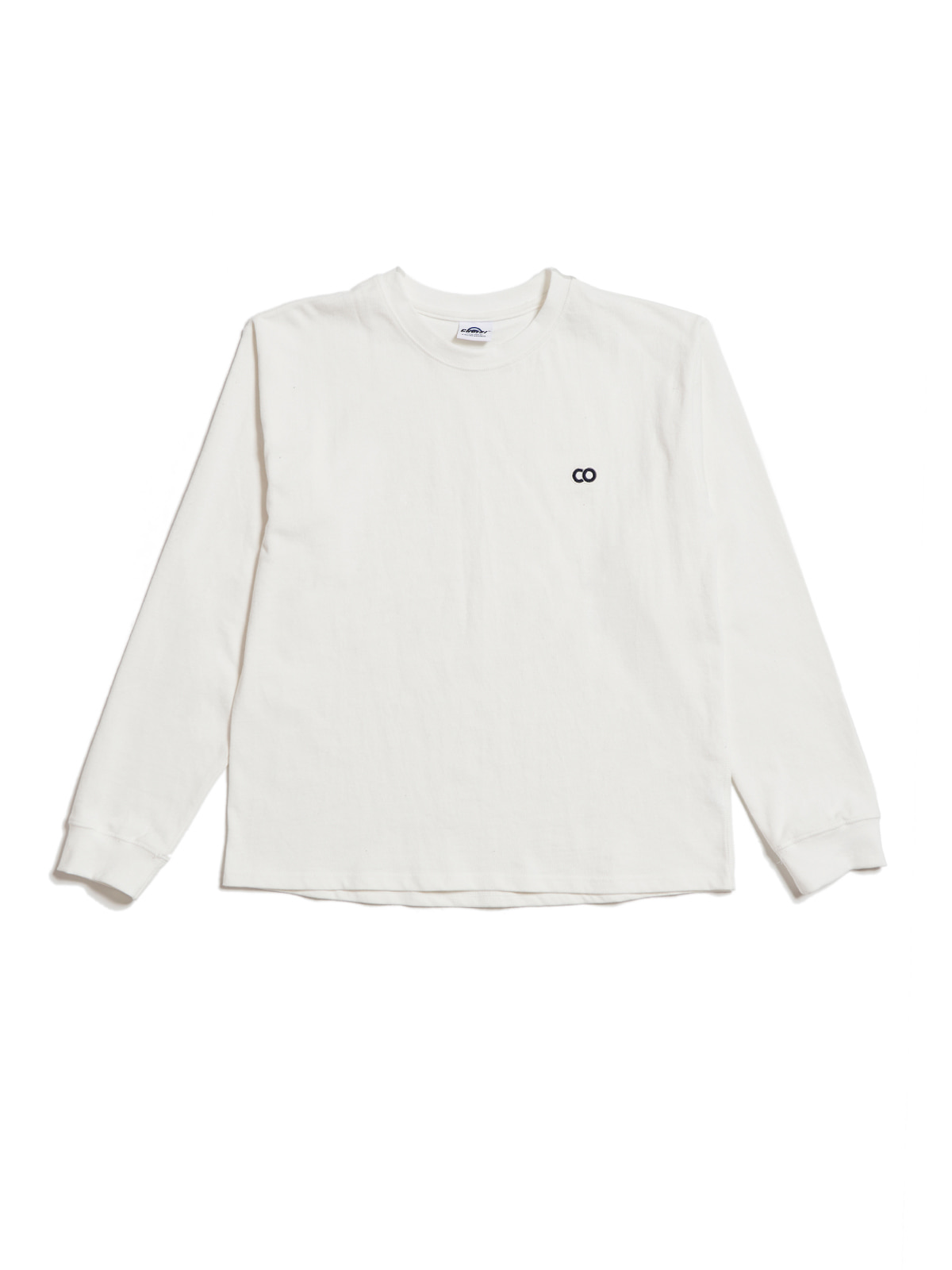 C.O Basic Long Sleeve, White