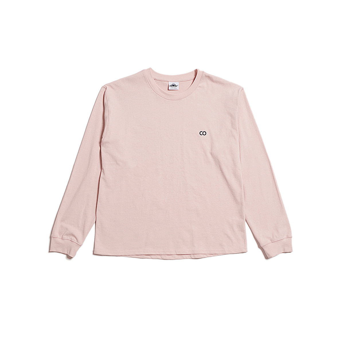 C.O Basic Long Sleeve, Light Pink