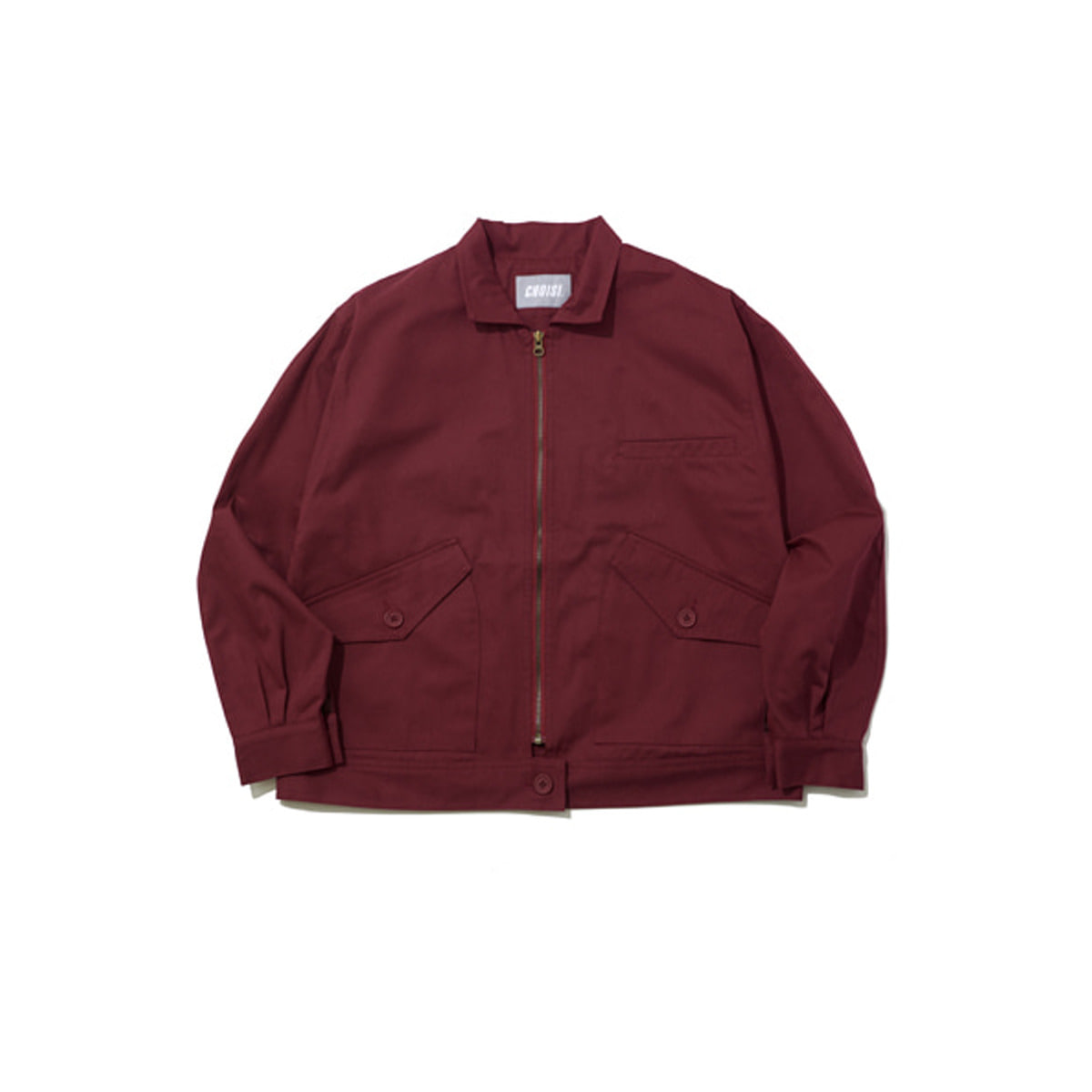 Primary Trucker Jacket, Burgundy