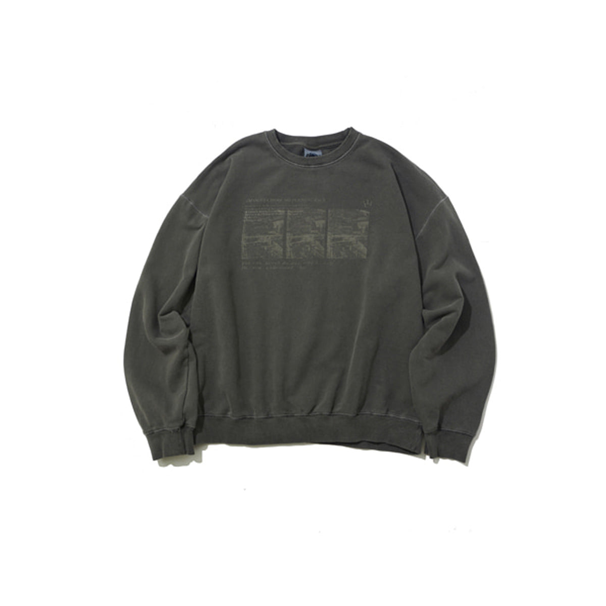 Faded Sweatshirt, Charcoal
