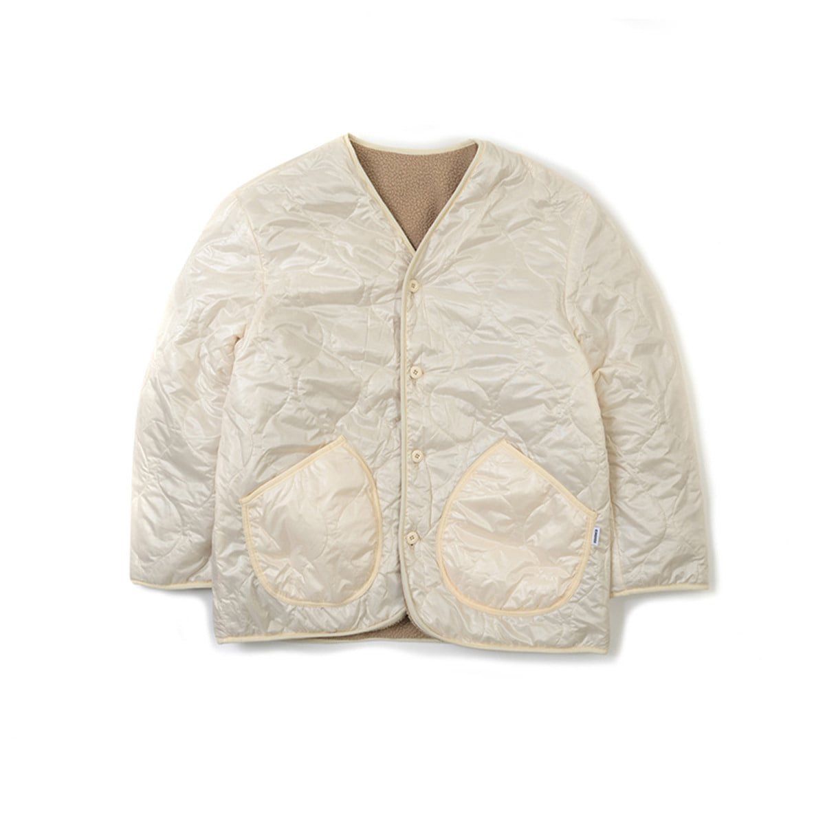 Reversible Two-Way Jacket, Ivory