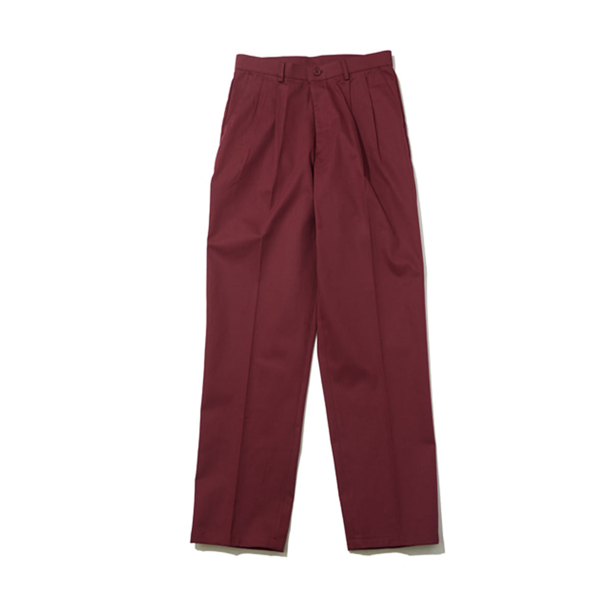 Primary Cotton Pants, Burgundy