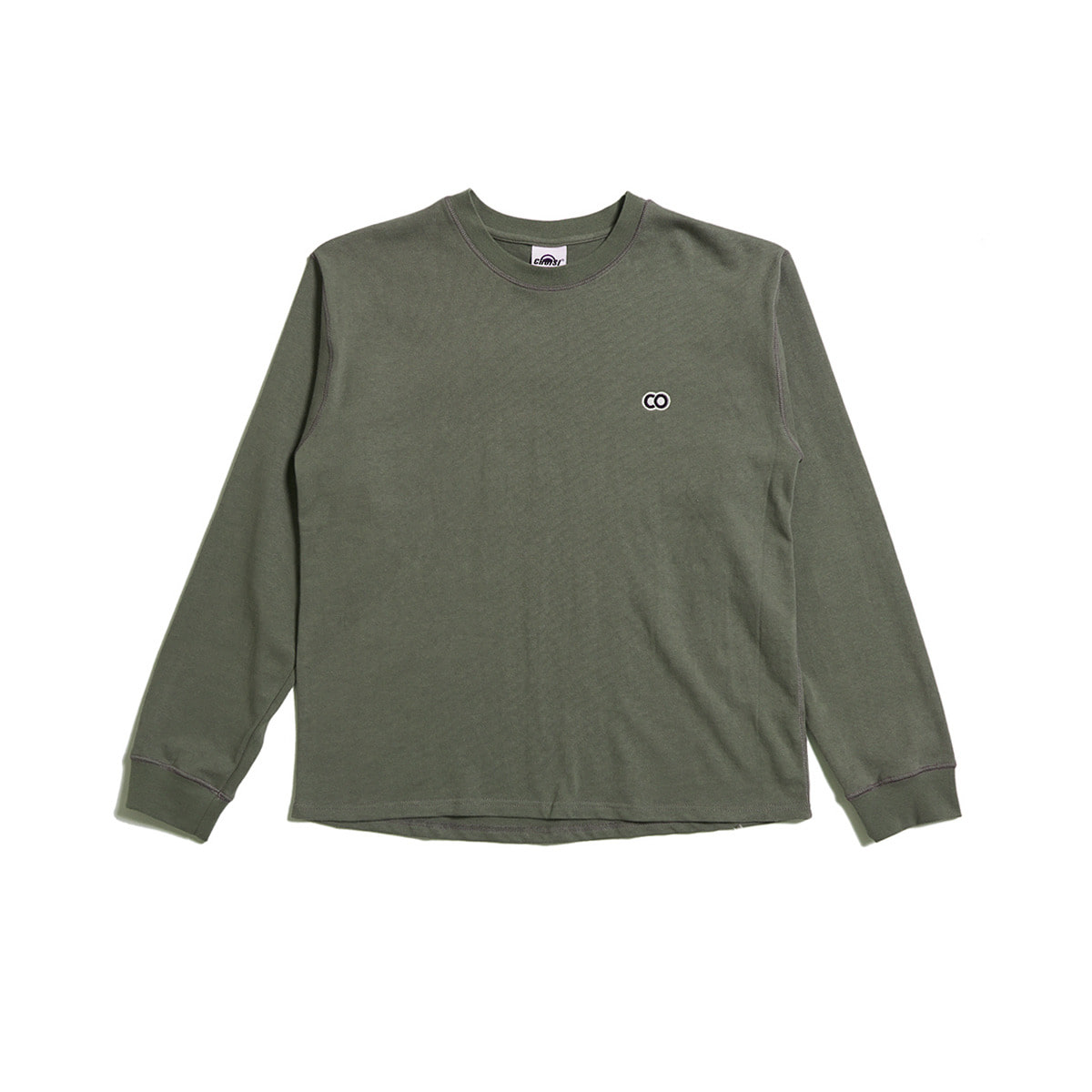 C.O Basic Long Sleeve, Charcoal