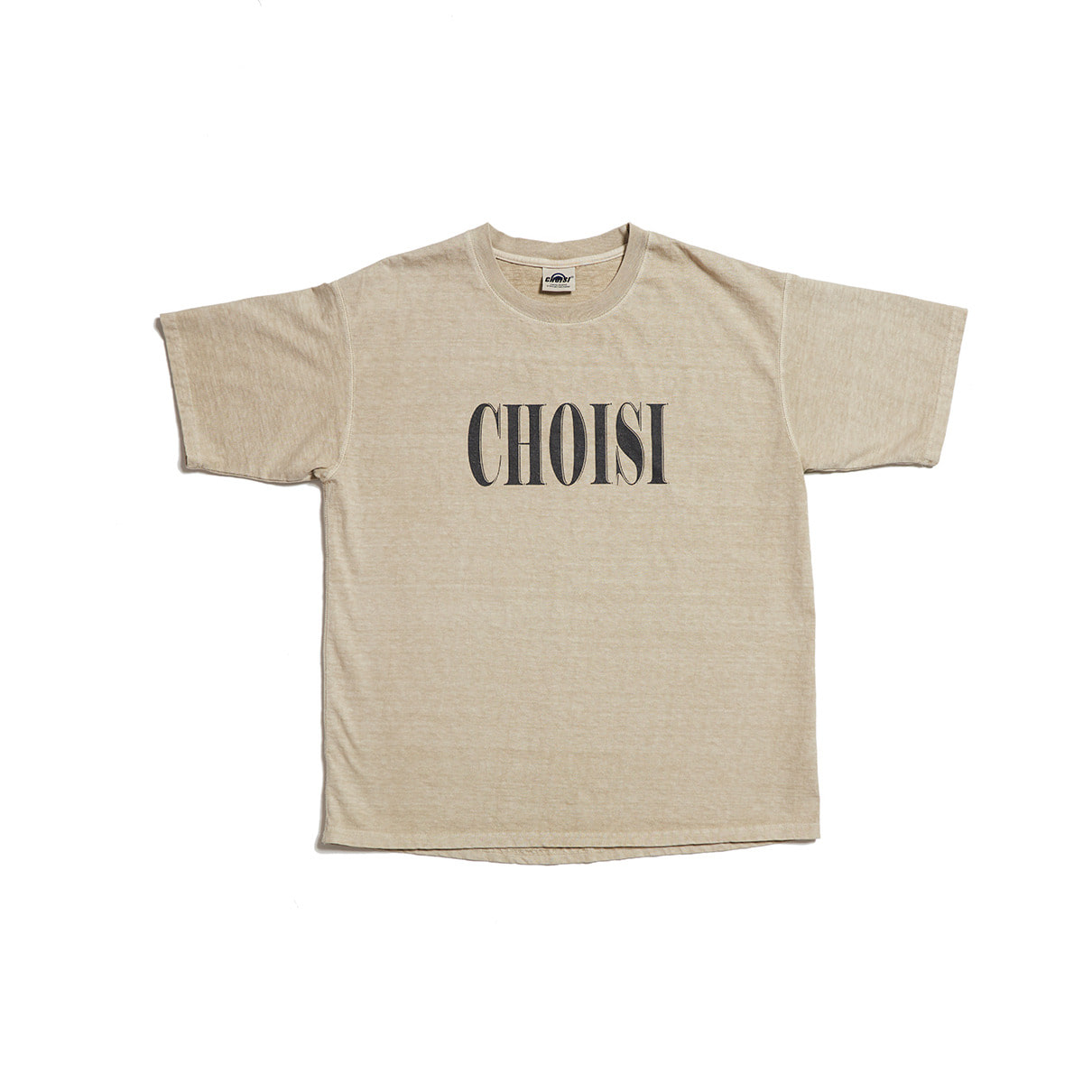 CHOISI Washing Short Sleeve, Beige