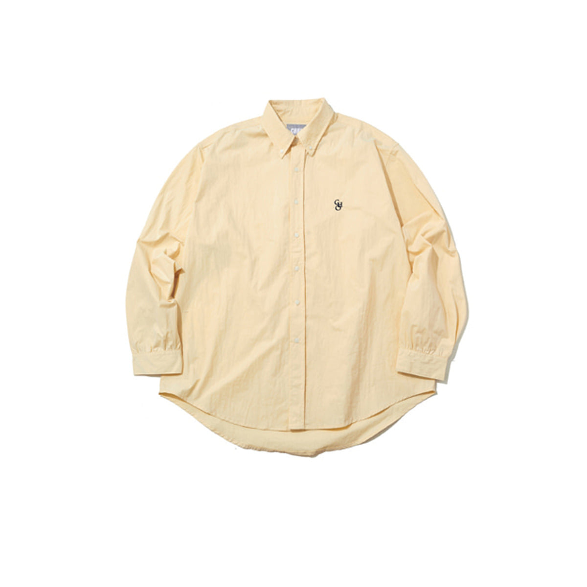 Cotton Loose Fit Shirt, Beige