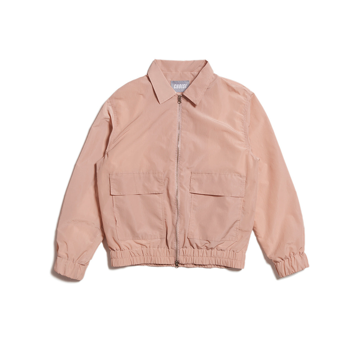 Rustle Two Pocket Jacket, Light Pink