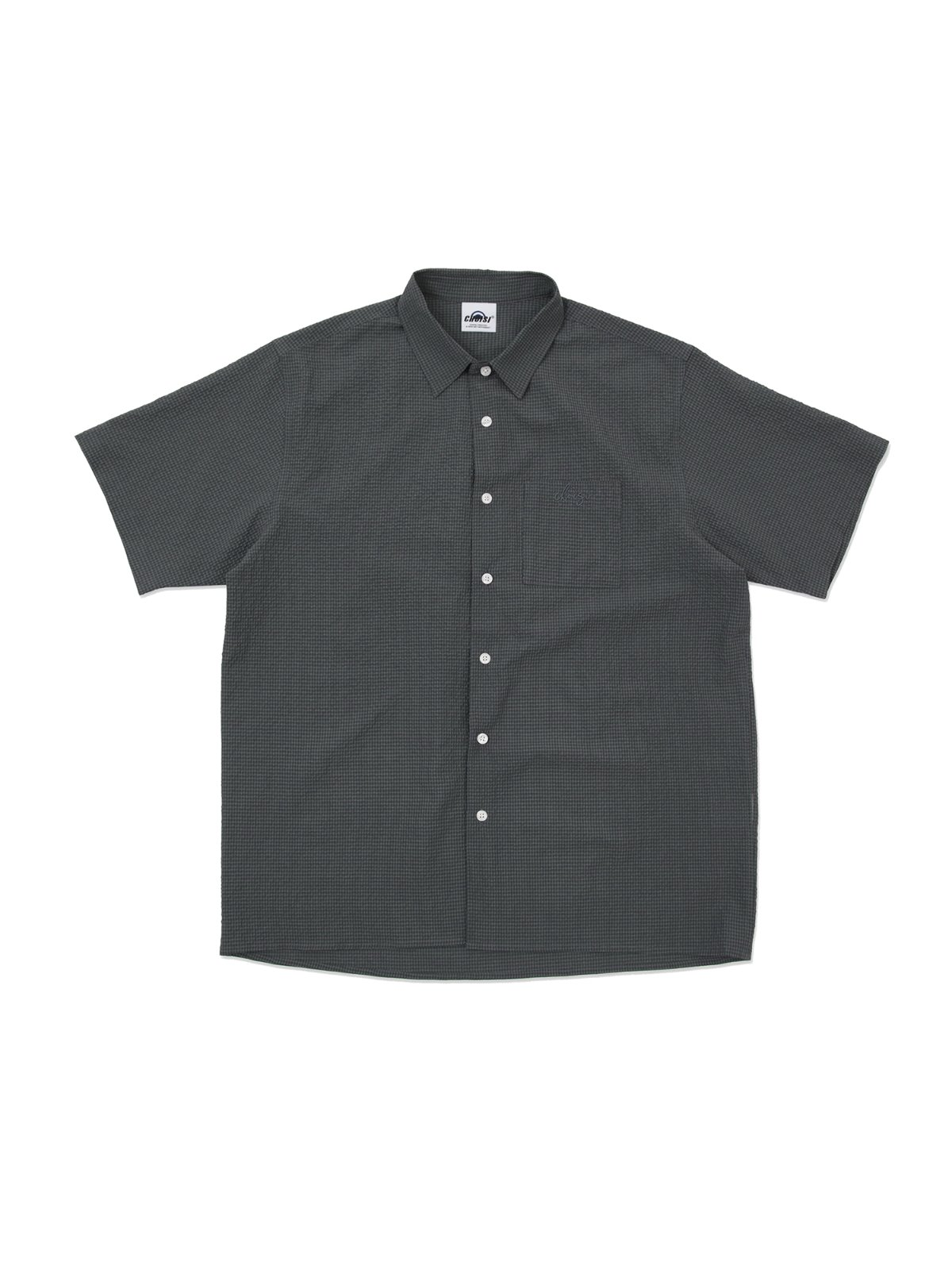 Blow shirt,Charcoal green